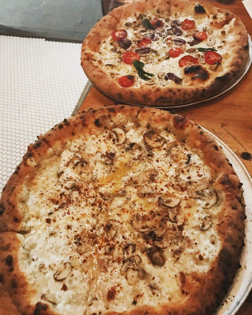 Pizza at MilkFlower