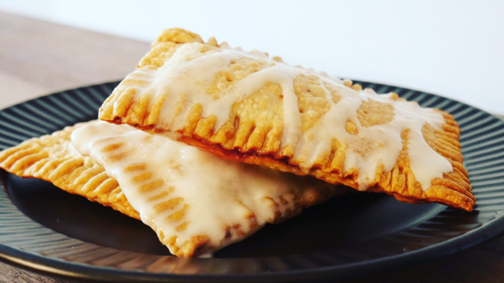 Frosted Poptart out of Air Fryer